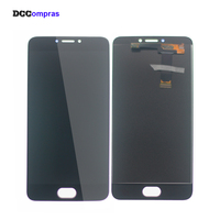 For Meizu MX6 LCD Display Touch Screen Digitizer Phone Parts For Meizu MX6 Screen LCD Free