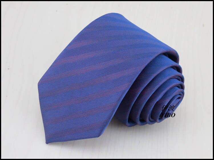 Man necktie/polyester/fashion narrow style/purple stripe design/The new han edition 6cm light purple tie,free shipping