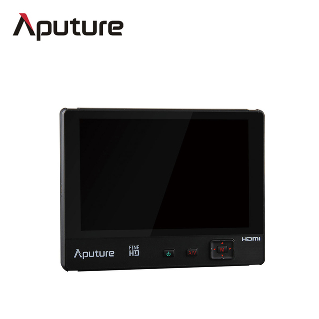 Aputure VS-1 FineHD 7″ Screen Video Monitor With Sunshade For DSLR CAMERA battery powered lcd monitor
