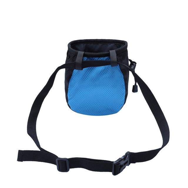 Powder Storage Pouch for Rock Climbing with Drawstring Adjustable Waist Belt