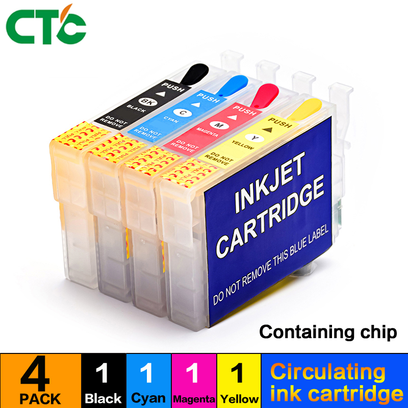 18XL Refillable Ink Cartridge T1811 Compitalbe For Expression Home XP 102/202/302/402/30/205/305/405/322 T1814 Printer
