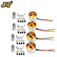 JMT 4Sets Lot A2212 1000KV Brushless Motor SKYWALKER 20A Brushless ESC For RC Aircraft 4 Axis