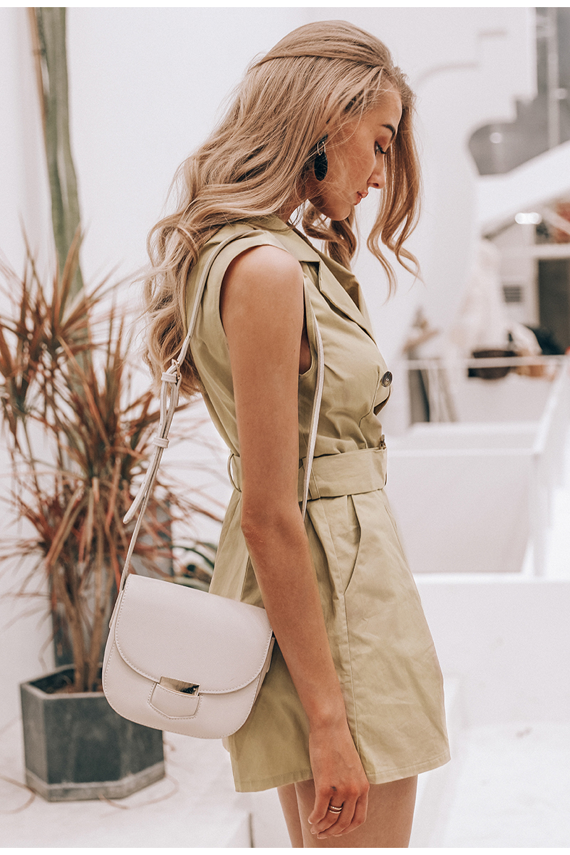HTB1O8wxUwHqK1RjSZFkq6x.WFXaF - Simplee Elegant sashes khaki cotton women playsuit Summer pockets button zipper rompers short jumpsuit Office ladies overalls