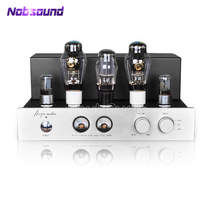 цена AIQIN Latest PSVANE 300B HiFi Stereo Tube Amplifier Pure Class A Single-ended AMP 9W*2 Handmade Scaffolding Amp