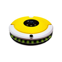 2000mAh Vacuum Robot Home Cleaner Strong 1000Pa Suction Sweep Auto Charge Dry Wet Mop GPS Clean