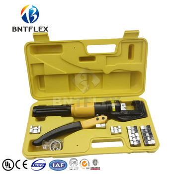 Power hydraulic tool , small hydraulic clamp 70 cable crimping pliers syk 8b hydraulic cable cutter tool hydraulic crimping tool