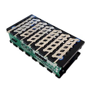 Image 3 - 13S 48V 6P 13S 78 holes battery holder nickel BMS 6P13S 6*13 holder+nickel+BMS 13S 48V 20A BMS For 48V 10 20Ah li ion battery