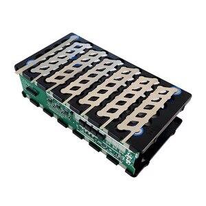 Image 3 - 13S 48V 6P 13S 78 orificios, soporte para batería níquel BMS 6P13S 6*13 soporte + níquel + BMS 13S 48V 20A BMS para 48V 10 20Ah batería li ion