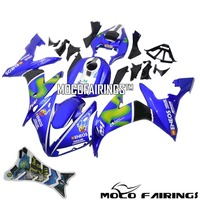 Complete ABS Plastic Fairing Kit For Yamaha YZF R1 2004 2005 2006 YZF R1 04 05 06 Motorcycle Fairings Bodywork BLUE