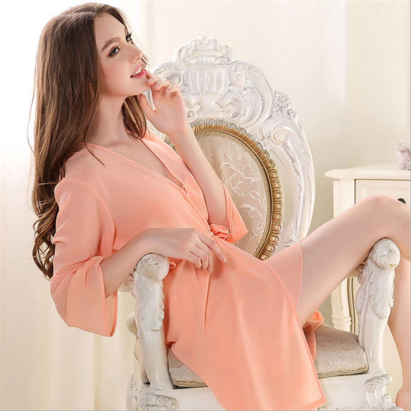 2018 New Arrival High grade Fashion Sexy Women Nightgown,Hot Sale For ladies for summer Sleepwears