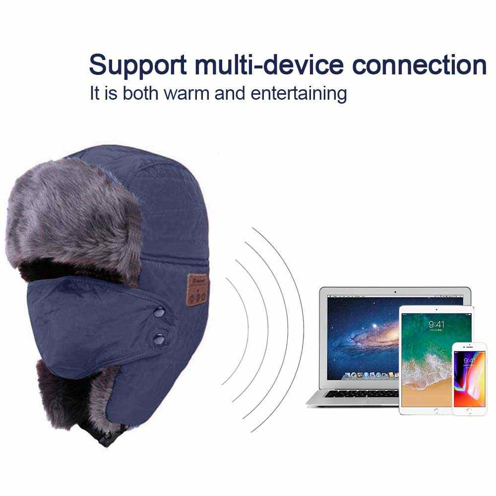 cad6f89194741 Detail Feedback Questions about Bluetooth Winter Trapper Hat ...