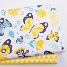 Cotton Sewing  FabricPatchwork ClothDIY Sewing Quilting Fat Quarters Material For Baby&Child