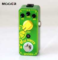 MOOER The Juicer Overdrive Pedal New effect guitar pedal True bypass switch Guitar effect pedal