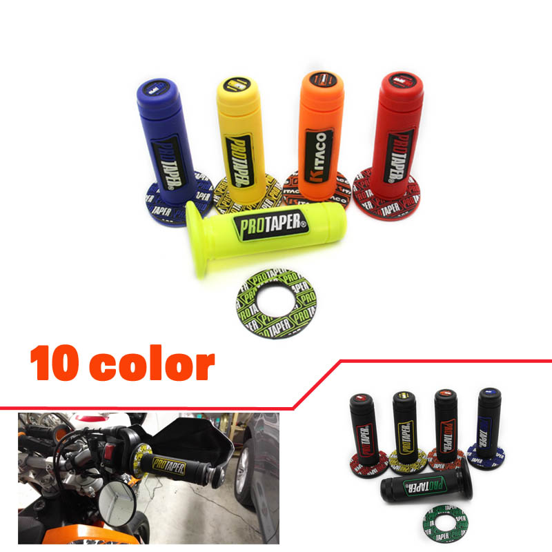 ctaper Motorcycle High Quality Protaper Dirt Pit Bike Motocross 7/8 Handlebar Rubber Gel Hand Grips Brake Hands