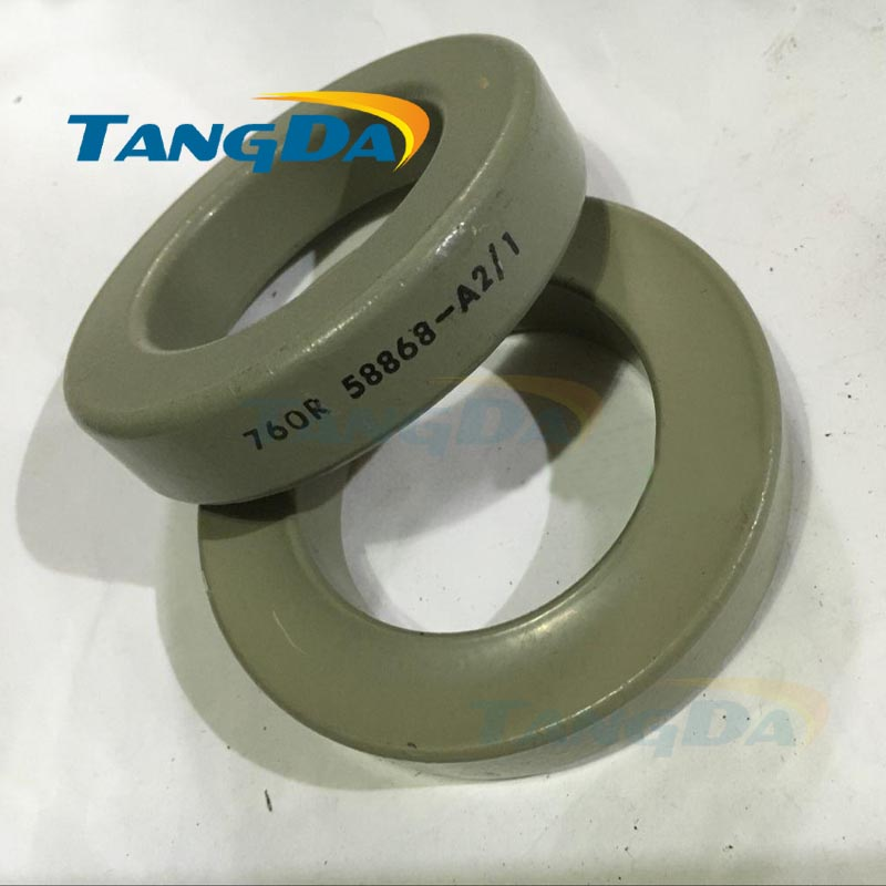 Tangda Iron nickel Cores 50%Fe + 50%Ni 760R 58868-A2 58868A2 SMPS RFI HI FLUX high Flux core 77.8*49.2*16 26u