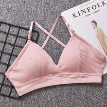 2019 HOT Women Bra Thin Seamless Wire Free Bralette Backless Bras For Sexy Underwear
