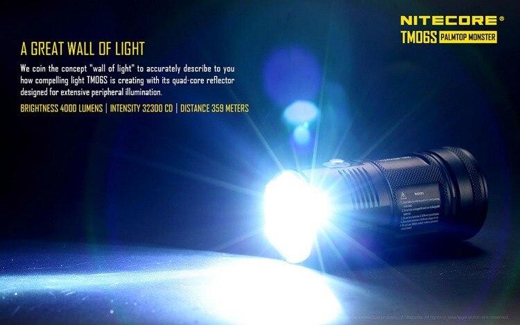 tm06s cree XM-L2 u3 led lanterna à