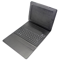Wireless Bluetooth Keyboard Folding Leather Protective Case For IPad 2 3 4 Black