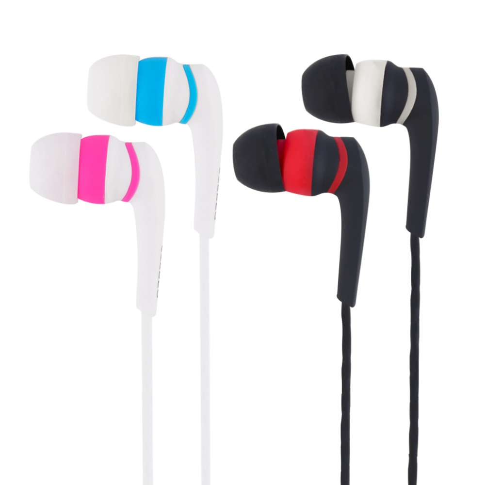 2017 New Stereo Sport Wire Earphone Colorful Life Earbuds Earphones With MIC For Phones Wholesales with cheap price for gifts sport life