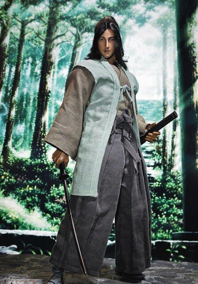 1/6 Japanese Samurai Ninja Sasaki Kojiro 12 Collectible Action Figure1/6 Japanese Samurai Ninja Sasaki Kojiro 12 Collectible Action Figure