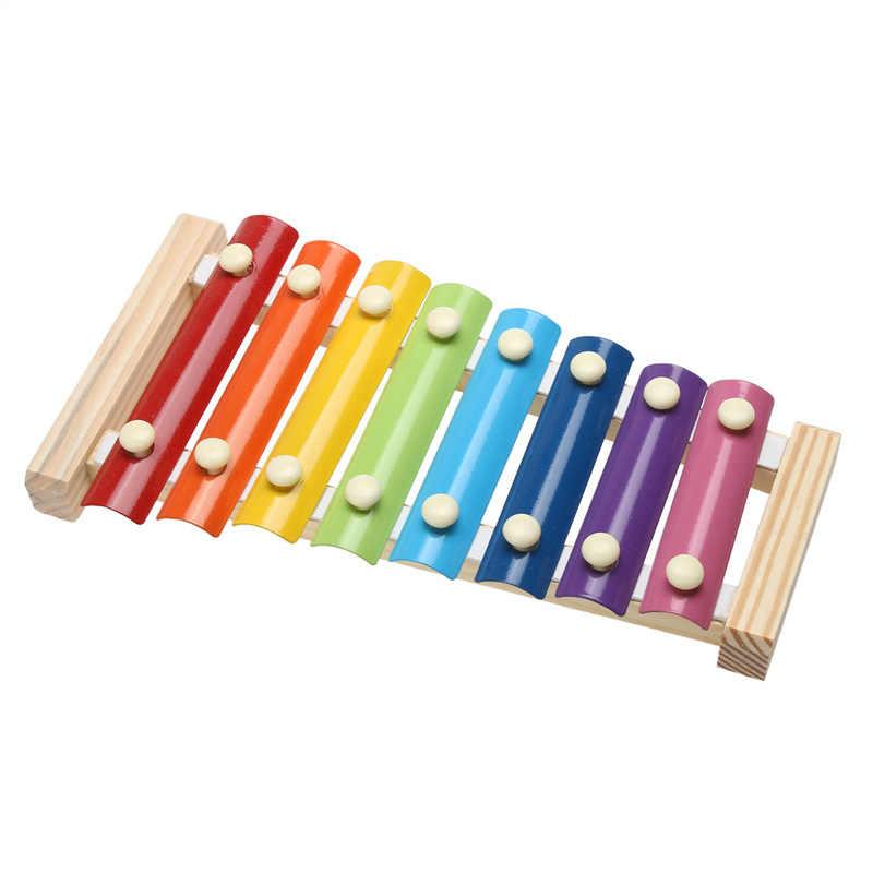 2019 最新のホット楽器玩具木製フレームスタイル木琴子供キッズミュージカルおかしいおもちゃベビー教育玩具ギフト