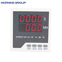 WSK303 G Frame Size 96 96mm LED Digital Display Temperature And Humidity Controller With Process Alarm
