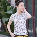 Brand Tshirt 2017 Summer Women's Lace Sleeve T-shirt Floral POLO Shirt Slim Female T Shirts Tops Tee Plus Size XXXL JA2458
