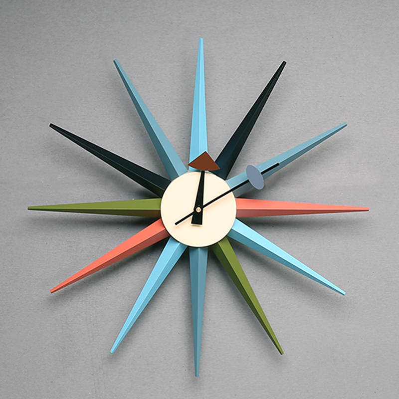 living room wall clocks designer sun clock nelson sunburst clock nelson clockchina