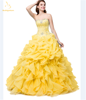Bealegantom Stock Sweetheart Quinceanera Dresses 2018 Ball Gown With Beaded Appliques Sweet 16 Dress Vestidos De 15 Anos QA1380