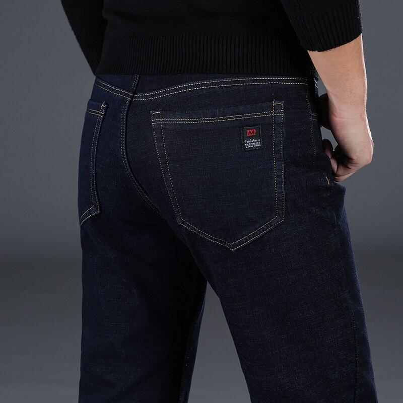 Male Jeans Men Homme Jean Vaqueros Hombre Classic Black Denim Pants Slim Stretch Men'S Plus Size Trousers Jogger Business