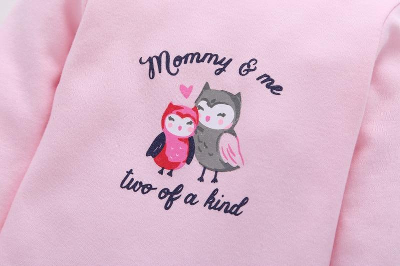 desenhos animados algodão macacão calças infantis meninas conjunto