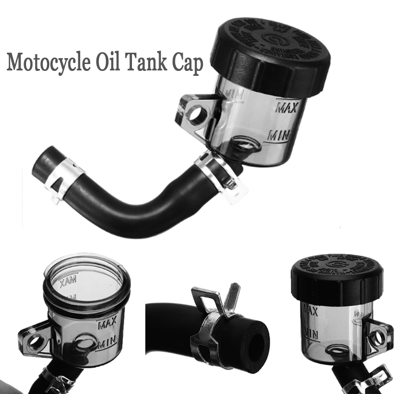 1PC Universal Motocycle Oil Tank Cap Rear Brake Clutch Master Cylinder Fluid Reservoir Fuel Petrol Pipe Cup For Honda For Suzuki
