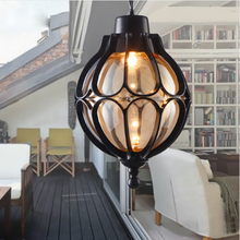 Waterproof outdoor garden lights vintage garden chandelier b