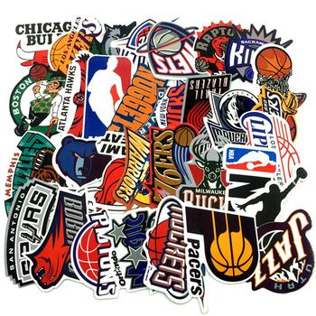 30pc/Lot Brand Basketball NBA Logo Stickers For Luggage Suitcase Skateboard Motor Car Pegatinas Adesivi Waterproof Stickers Cool friends tv show animated