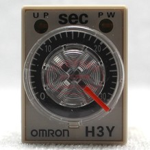 Free shipping Original authentic Omron (Shanghai) OMRON time relay H3Y-2-C AC220V 30S seconds