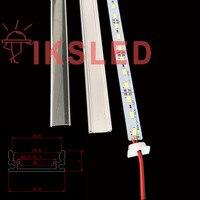 50 шт. 50 см ультра яркий Корея 8520 SMD светодиодные ленты огни 12 в led Настольная лампа с жесткий свет бар 12 мм led Жесткая