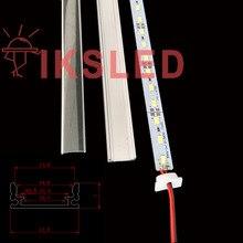 50 unids 50 cm Corea ultra brillante 8520 SMD led luces de tira 12 v lámpara de escritorio led con barra de luz dura 12mm led barra rígida