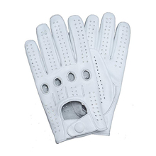 Free Shipping New Mens Genuine Leather Gloves Male Breathabl