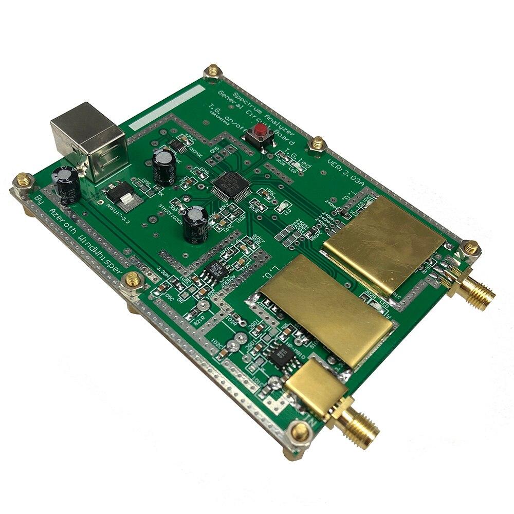 Analyseur de spectre Simple D6 avec Source de suivi T.G. V2.02 outil d'analyse de domaine de fréquence RF Simple Source de Signal - 2