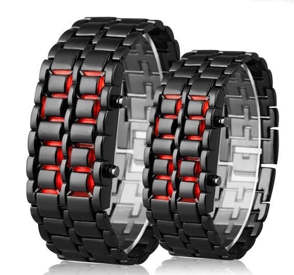 DIFONEY Full Stainless Steel Lovers' Led Wristwatch Luxury Men Women Sport Watches Fashion Ladies Dress Watch Relogio Masculino