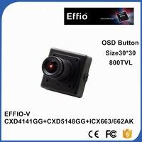 1 3 SONY CCD Day Night Effio V WDR 800TVL 0 0003Lux Starlight Miniature Square 3