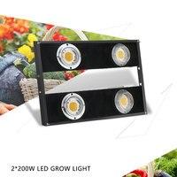 CREE CXB3590 светодиоды полный спектр 400 Вт лампы для роста растений лампа внутреннего освещения для теплиц Vegs гидропоники системы расти/Блум цве