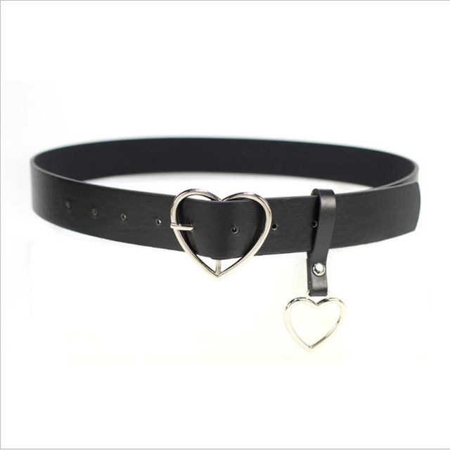 Jeans PU Ring Women's Belt...
