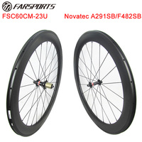 NEW IRONMAN RACING CARBON WHEELSET 60MM 23MM CLINCHER BICYCLE ROAD 20H/24H CHINESE OEM CARBON WHEELSETS 1595G/SET