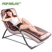 Pop Relax Korea Tourmaline Germanium Health Bed Mattress Massage Mat Thermal Bio Far Infrared Therapy Heating Pad Sofa Mattress