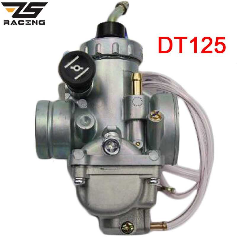 ZS Racing 28mm Motorcycle Carburetor Carburador For Dirt Bike Yamaha DT125 DT 125 Suzuki TZR125 RM65 RM80 RM85 DT175 RX125 original 26mm mikuni carburetor for cbt125 cb125t cbt250 ca250 carburador de moto