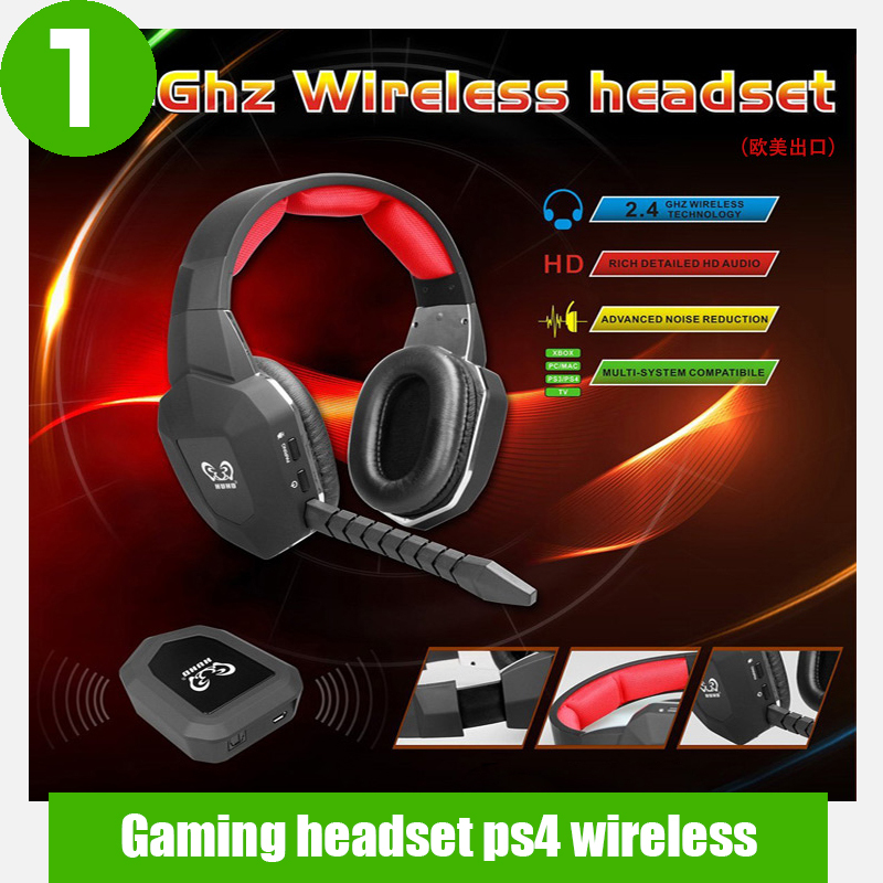 High Quality Gaming Headset Wireless Detachable Microphone For XBOX ONE/XBOX 360/PS3/PS4,stereo