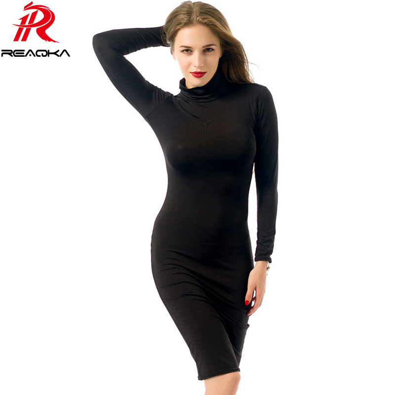 S-XXL women winter long sleeve v neck sexy club dress 2016 midi pencil bodycon bandage party dresses plus size women clothing