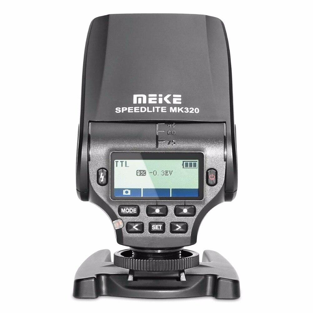MEKE MK320S TTL Speedlite Flash for Sony Mirrorless Camera A7 A7R A7S A7II A77II A6000 NEX-6 A58 A99 RX1 RX1R RX10 RX100II RX10 mcoplus bg 1500 1 8000s ttl 2 4g wireless speedlite flash for sony mirrorless camera a7 a7r a7s a7ii a77ii a6000 nex 6 a58 a99
