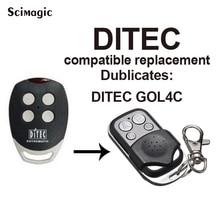 1 pcs GOL4C DITEC controle remoto DITEC remoto da porta da garagem porta de substituição